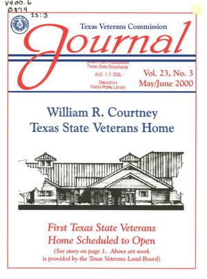 Primary view of object titled 'Texas Veterans Commission Journal, Volume 23, Issue 3, May/June 2000'.