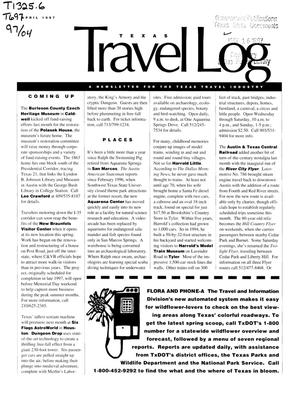 Primary view of object titled 'Texas Travelog, April 1997'.