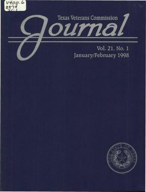 Primary view of object titled 'Texas Veterans Commission Journal, Volume 21, Issue 1, January/February 1998'.