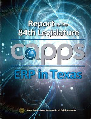 Primary view of object titled 'Capps-ERP in Texas'.