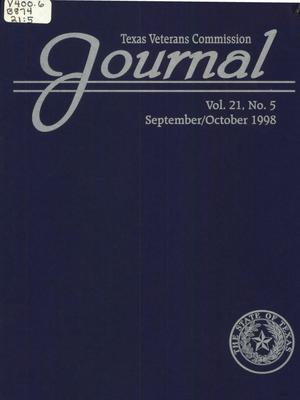 Primary view of object titled 'Texas Veterans Commission Journal, Volume 21, Issue 5, September/October 1998'.