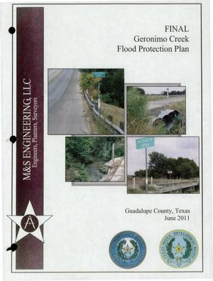 Primary view of object titled 'Geronimo Creek Flood Protection Plan'.