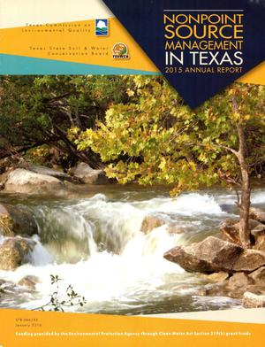 Primary view of object titled 'Texas Nonpoint Source Management Program Annual Report: 2015'.