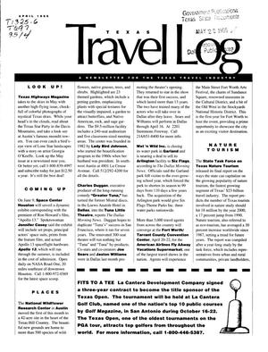 Primary view of object titled 'Texas Travelog, April 1995'.