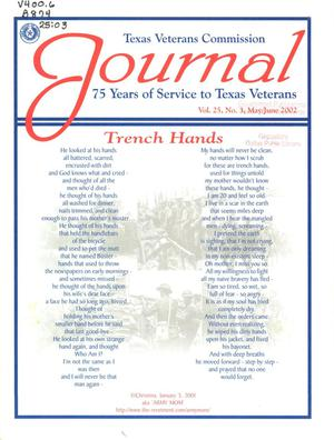 Primary view of object titled 'Texas Veterans Commission Journal, Volume 25, Issue 3, May/June 2002'.
