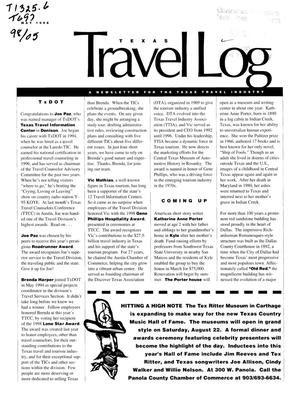 Primary view of object titled 'Texas Travelog, May 1998'.