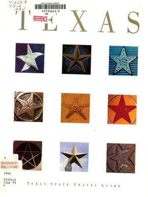 Primary view of object titled 'Texas State Travel Guide: 1994'.
