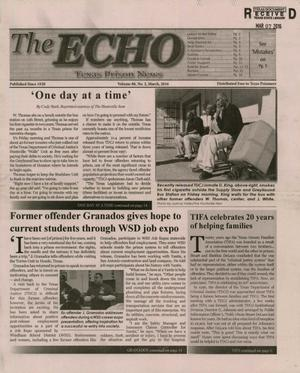 Primary view of object titled 'The ECHO, Volume 88, Number 2, March 2016'.