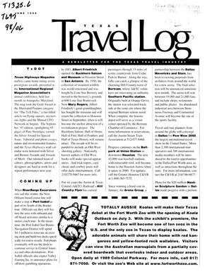Primary view of object titled 'Texas Travelog, June 1998'.