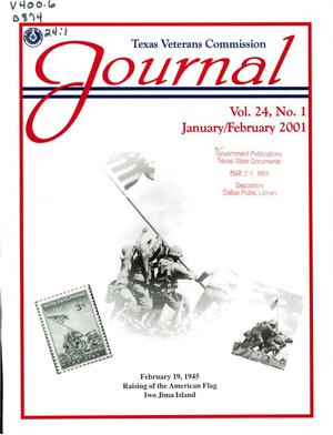 Primary view of object titled 'Texas Veterans Commission Journal, Volume 24, Issue 1, January/February 2001'.