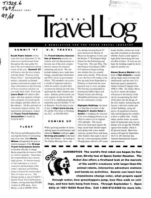 Primary view of object titled 'Texas Travelog, August 1997'.