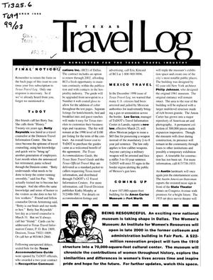 Primary view of object titled 'Texas Travelog, March 1999'.