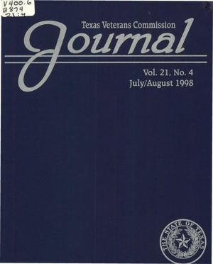 Primary view of object titled 'Texas Veterans Commission Journal, Volume 21, Issue 4, July/August 1998'.