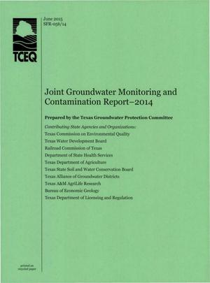 Primary view of object titled 'Joint Groundwater Monitoring and Contamination Report 2014'.