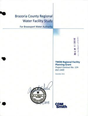 Primary view of object titled 'Brazoria County Regional Water Facility Study'.