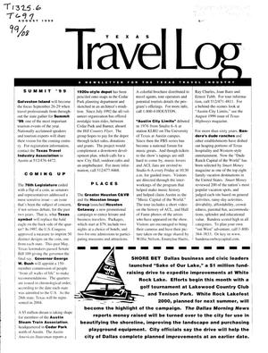 Primary view of object titled 'Texas Travelog, August 1999'.