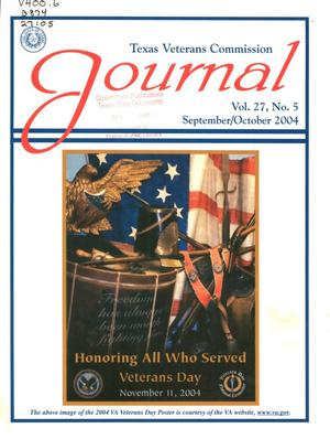Primary view of object titled 'Texas Veterans Commission Journal, Volume 27, Issue 5, September/October 2004'.