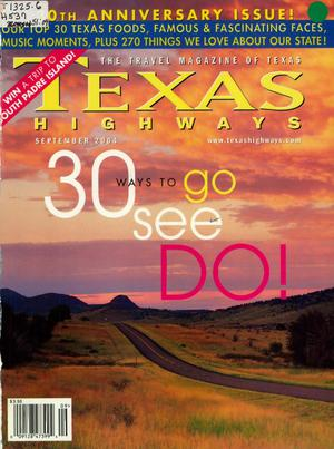 Primary view of object titled 'Texas Highways, Volume 51 Number 9, September 2004'.