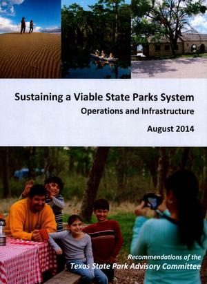 Primary view of object titled 'Sustaining a Viable State Parks System. Operations and Infrastructure'.