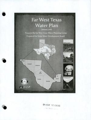 Primary view of object titled 'Regional Water Plan: Region E (Far West Texas), 2016, Main Report'.