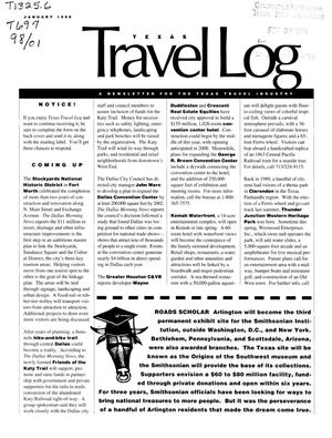 Primary view of object titled 'Texas Travelog, January 1998'.
