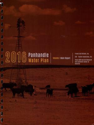 Primary view of object titled 'Regional Water Plan: Region A (Panhandle), 2016, Volume 1. Main Report'.