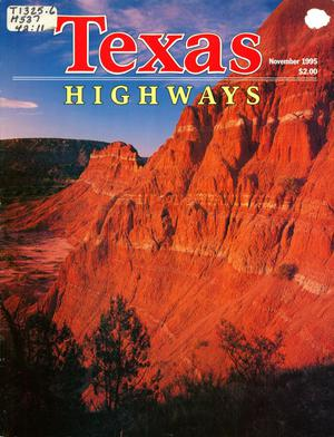 Primary view of object titled 'Texas Highways, Volume 43 Number 11, November 1995'.