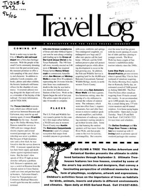 Primary view of object titled 'Texas Travelog, June 1996'.
