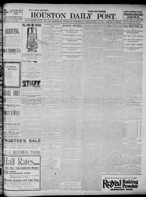 The Houston Daily Post (Houston, Tex.), Vol. ELEVENTH YEAR, No. 249, Ed. 1, Wednesday, December 18, 1895