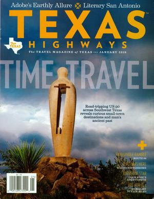 Primary view of object titled 'Texas Highways, Volume 63 Number 1, January 2016'.
