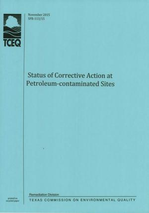 Primary view of object titled 'Status of Corrective Action at Petroleum-Contaminated Sites'.