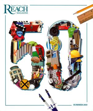 Primary view of object titled 'Reach Magazine, Volume 2, Number 1, Summer 2015'.