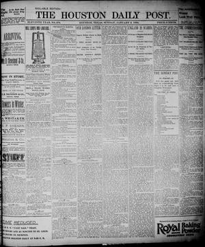 The Houston Daily Post (Houston, Tex.), Vol. ELEVENTH YEAR, No. 276, Ed. 1, Sunday, January 5, 1896