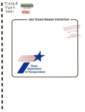 Primary view of object titled 'Texas Transit Statistics: 2001'.