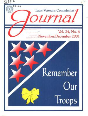 Primary view of object titled 'Texas Veterans Commission Journal, Volume 24, Issue 6, November/December 2001'.