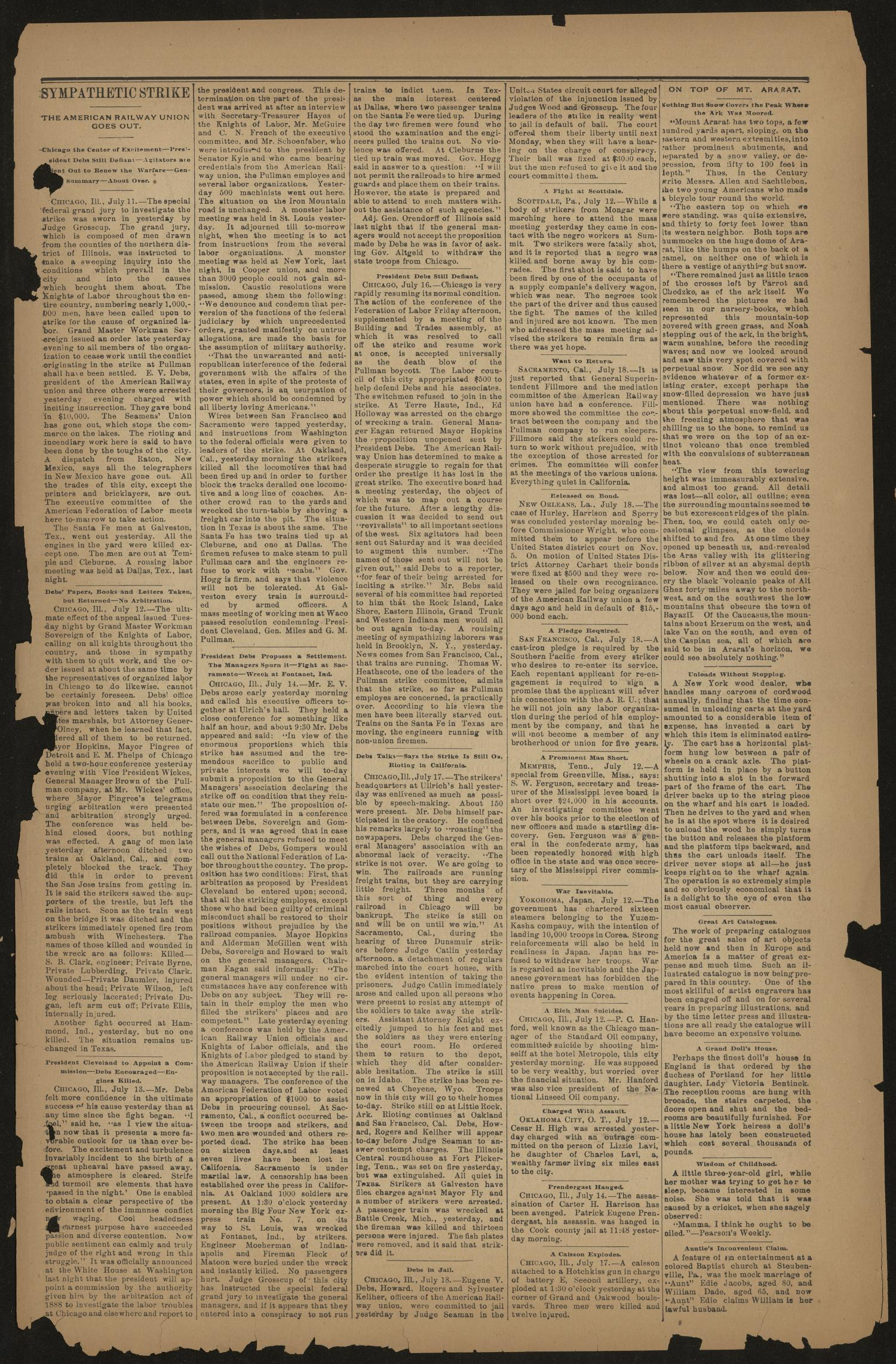 Jacksonville Banner. (Jacksonville, Tex.), Vol. 7, No. 11, Ed. 1 Saturday, July 21, 1894                                                                                                      [Sequence #]: 3 of 8