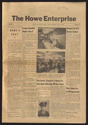 Primary view of object titled 'The Howe Enterprise (Howe, Tex.), Vol. 5, No. 46, Ed. 1 Thursday, May 29, 1969'.