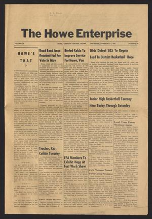 Primary view of object titled 'The Howe Enterprise (Howe, Tex.), Vol. 4, No. 30, Ed. 1 Thursday, February 2, 1967'.