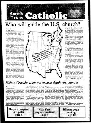 Primary view of object titled 'South Texas Catholic (Corpus Christi, Tex.), Vol. 19, No. 21, Ed. 1 Friday, November 18, 1983'.