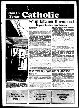 Primary view of object titled 'South Texas Catholic (Corpus Christi, Tex.), Vol. 19, No. 7, Ed. 1 Friday, August 12, 1983'.