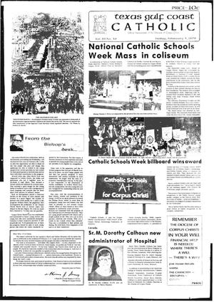 Primary view of object titled 'Texas Gulf Coast Catholic (Corpus Christi, Tex.), Vol. 12, No. 36, Ed. 1 Friday, February 3, 1978'.