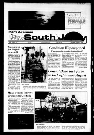 Primary view of object titled 'Port Aransas South Jetty (Port Aransas, Tex.), Vol. 14, No. 31, Ed. 1 Thursday, August 2, 1984'.