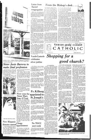 Primary view of object titled 'Texas Gulf Coast Catholic (Corpus Christi, Tex.), Vol. 15, No. 9, Ed. 1 Friday, July 20, 1979'.
