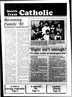 Primary view of object titled 'South Texas Catholic (Corpus Christi, Tex.), Vol. 19, No. 13, Ed. 1 Friday, September 23, 1983'.