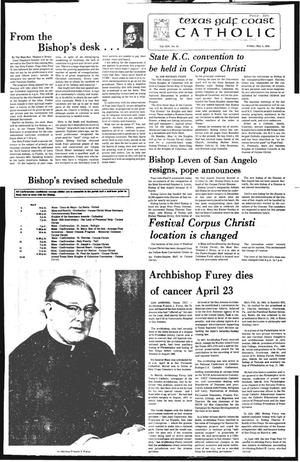 Primary view of object titled 'Texas Gulf Coast Catholic (Corpus Christi, Tex.), Vol. 14, No. 48, Ed. 1 Friday, May 4, 1979'.