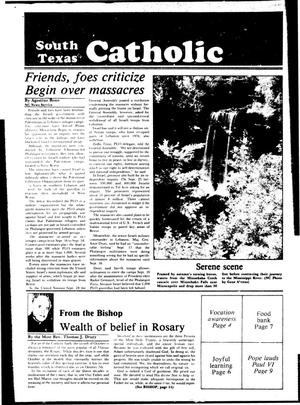 Primary view of object titled 'South Texas Catholic (Corpus Christi, Tex.), Vol. [18], No. [19], Ed. 1 Friday, October 1, 1982'.