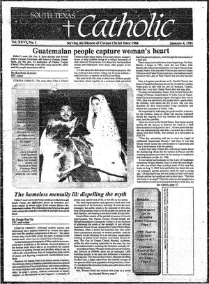 Primary view of object titled 'South Texas Catholic (Corpus Christi, Tex.), Vol. 26, No. 1, Ed. 1 Friday, January 4, 1991'.