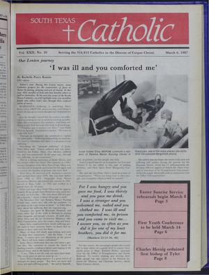 Primary view of object titled 'South Texas Catholic (Corpus Christi, Tex.), Vol. 22, No. 10, Ed. 1 Friday, March 6, 1987'.