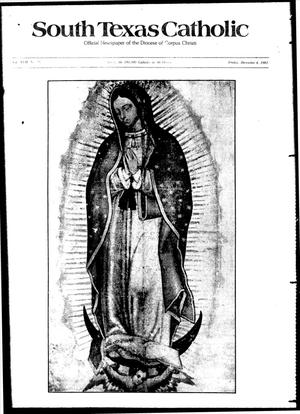 Primary view of object titled 'South Texas Catholic (Corpus Christi, Tex.), Vol. 17, No. 28, Ed. 1 Friday, December 4, 1981'.