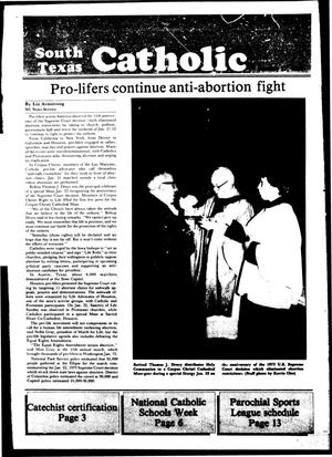 Primary view of object titled 'South Texas Catholic (Corpus Christi, Tex.), Vol. 19, No. 30, Ed. 1 Friday, January 27, 1984'.